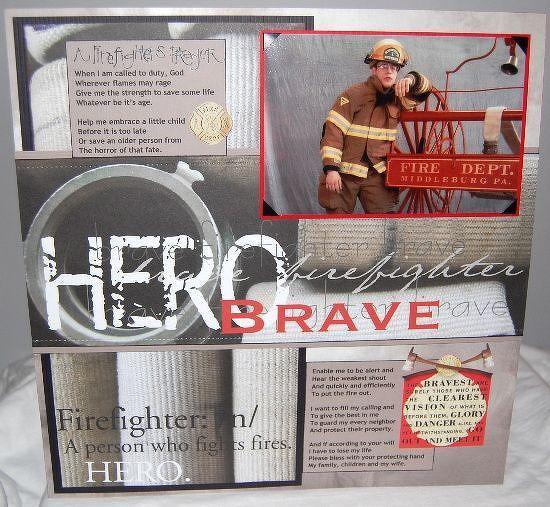 A+Firefighters+Prayer++++*Paper+House* - Scrapbook.com