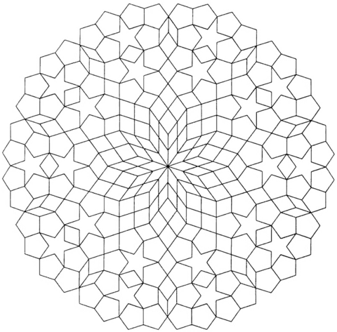 Geometric Mandala With Hexagons And Rhombus Coloring Page Free Printable Coloring Pages Geometric Mandala Coloring Pages Geometric Printable