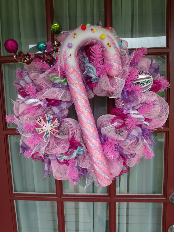 Sugar Plum Fairy Pink Purple Fuschia Deco Mesh By