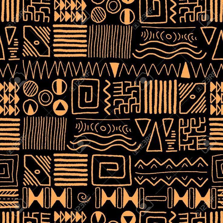 Afrikanisches Muster Afrikanische Muster