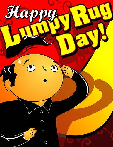 Lumpy Rug Day Book Cover Broken Leg Day