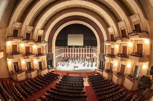 Teatro de La Paz, en San Luis Potosí  Foto: flickr – eneas de troya /  CC