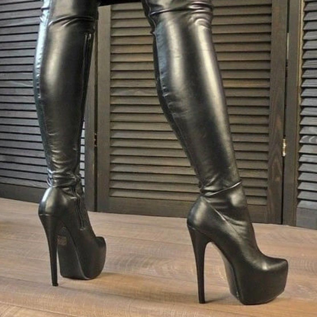 Shoeshighheels | Boots, High heel boots, Thigh high boots heels