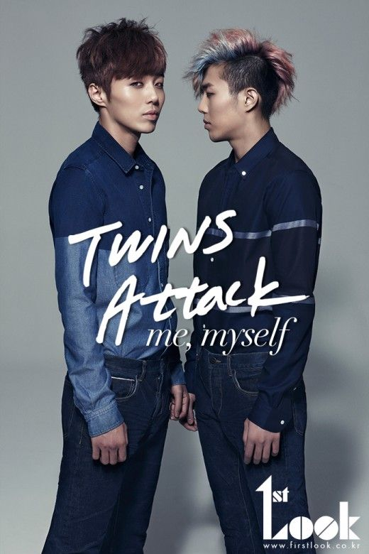 The Tasty Twins... Jung So Ryong (정소룡) and Jung Dae Ryong (정대룡) for First Look.