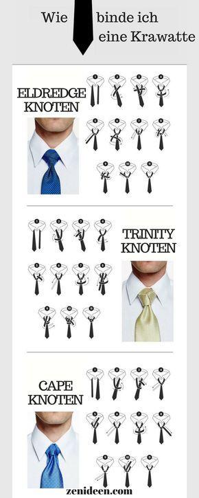 Wie binde ich eine krawatte mode krawatte krawatten - Schal binden mann ...