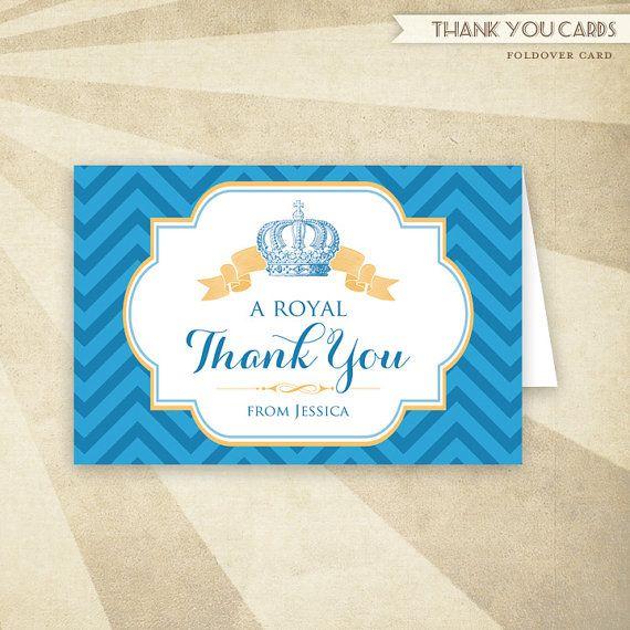 CUSTOM PRINTABLE Folded Thank You Card