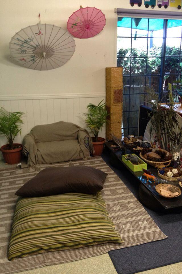 Classroom Corners Ideas ~ Quiet areas and cozy corners on pinterest reading