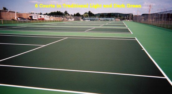 Site Development Tennis Courts Basketball Courts Fencing Inline - Skate court flooring