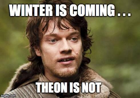 Image result for Theon Greyjoy meme