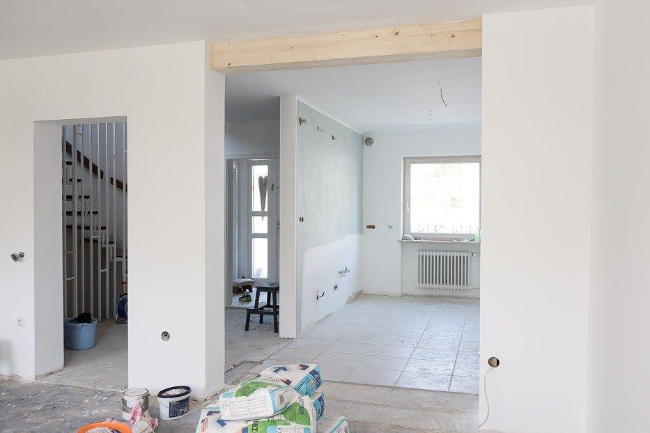 Umbau Reihenhaus Teil I - Wände raus #innenhofgestaltung