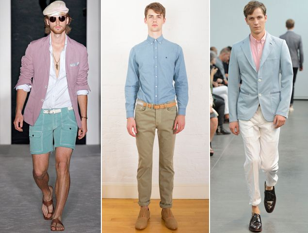 Spring's New Hues (Just Don't Call 'Em Pastels): The GQ Eye: GQ on Style: GQ