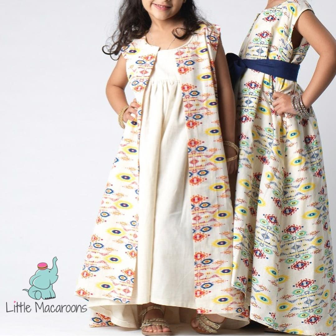 Kids Ramadhan Clothing By Littlemacaroons Modest Girls Dresses Baby Summer Dresses Girls Casual Dresses