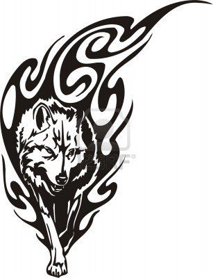 Wolf Images Stock Pictures Royalty Free Wolf Photos And Stock Photography With Images Wolf Tattoo Design Tribal Wolf Tattoo Tribal Wolf