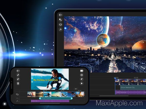 PowerDirector iPhone iPad Outil de Montage Video Pro