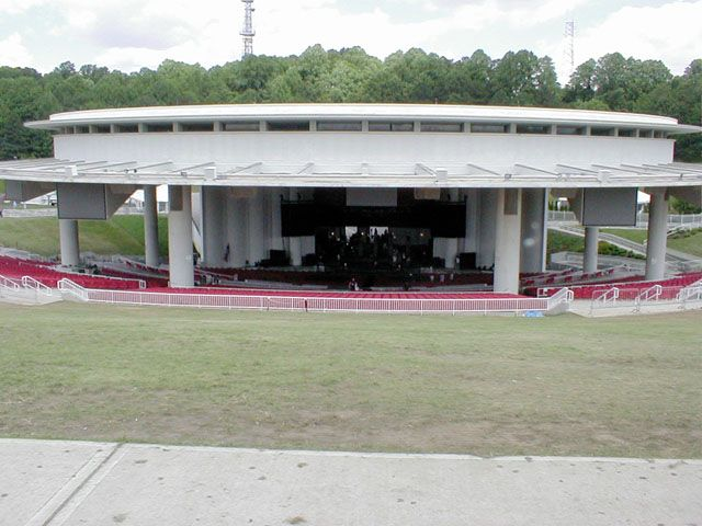 Perfect Garden State Arts Center, Holmdel, NJ (now PNC Bank Arts Center) Sooooo