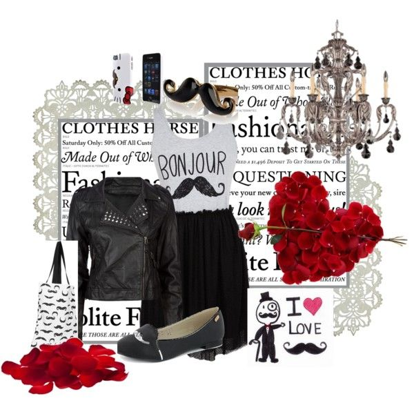 """Bonjour Monsieur"" by sawilson98 on Polyvore"