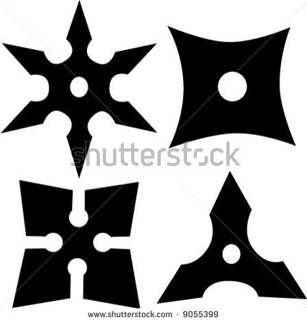Ninja Shuriken - Throwing Stars   Kindergeburtstag   Pinterest ...