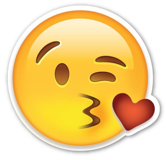 Image result for side kiss emoji png