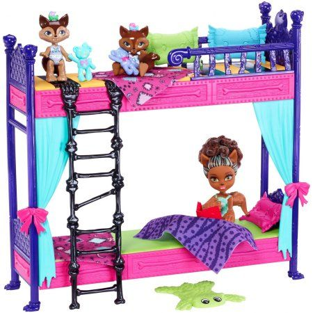 Monster High Monster Family Wolf Bunk Bed Playset Dolls Products