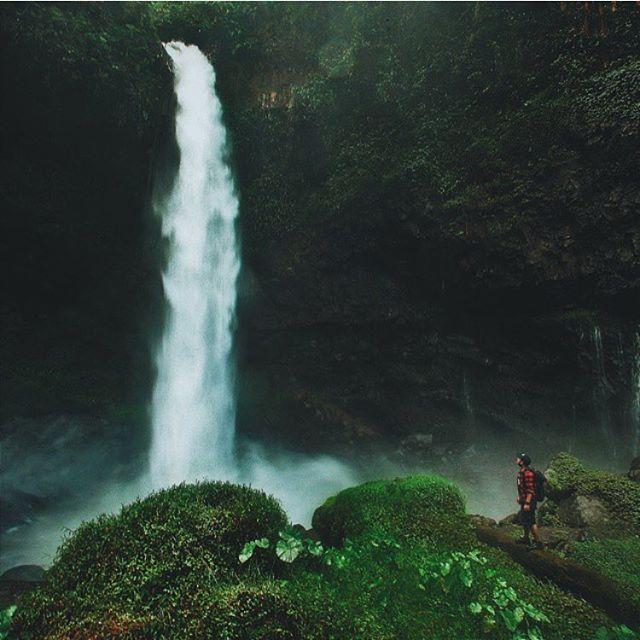 The Ciparay Waterfall Tasikmalaya West Java Indonesia | photo  @firmanochim / @cepamins #liveoutdoors #adventure #travel #wanderlustpic by live.outdoors