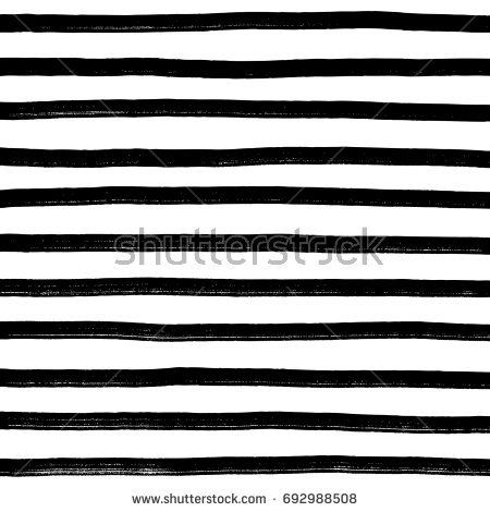 hand drawn horizontal stripes pattern background Texture