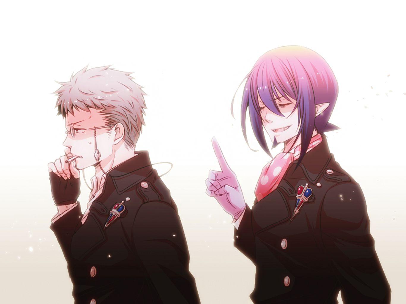 Anime Blue Exorcist Shiro Fujimoto Mephisto Pheles Ao No Wallpaper