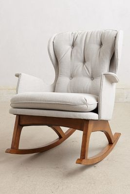Cozy Rocking Chair. Awesome Ideas