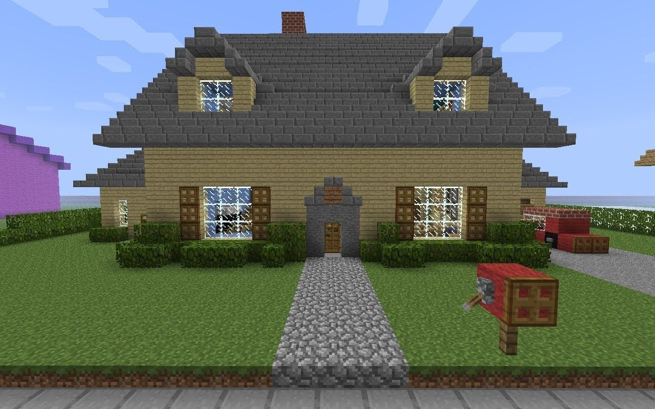 Minecraft house step by step wallpaper minecraft house hd for Cool ideas for building a house