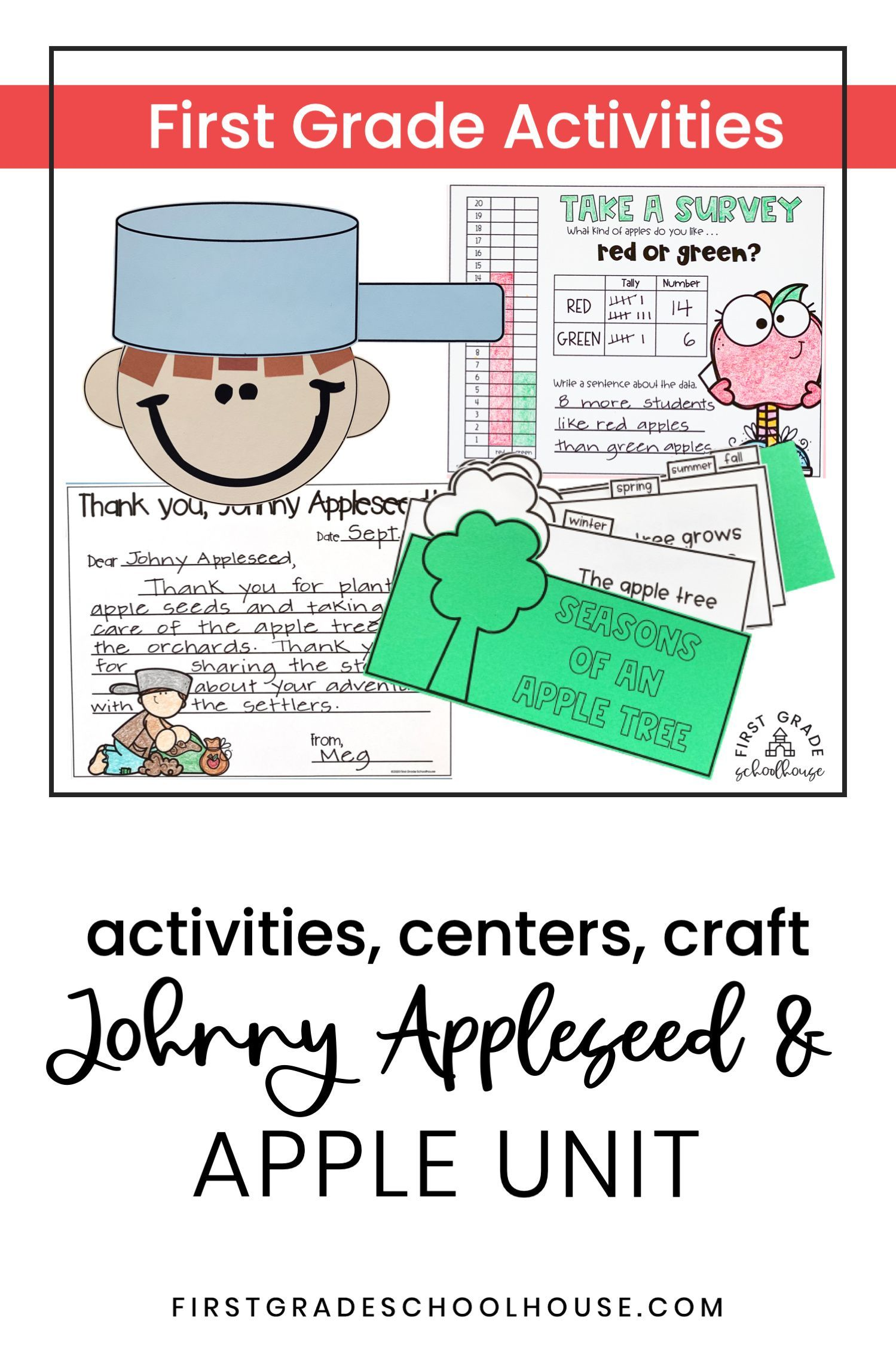 Johnny Appleseed And Apple Unit