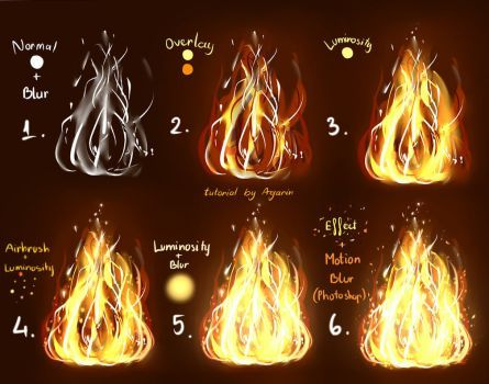 How To Draw Fire In Krita