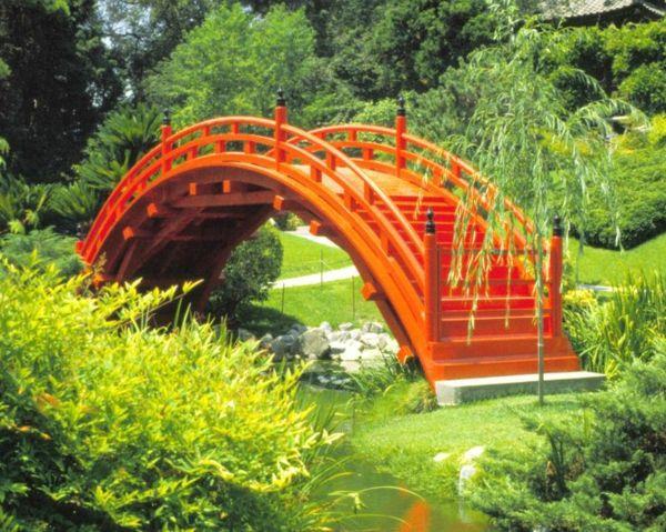 100 Bilder Zur Gartengestaltung U2013 Die Kunst Die Natur Zu Modellieren    Japanischer Garten Mit Brücke