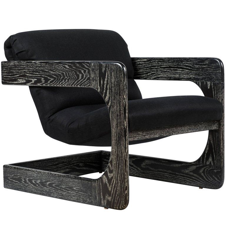 Lou Hodges Lounge Chair For Sale With Images Blue Velvet