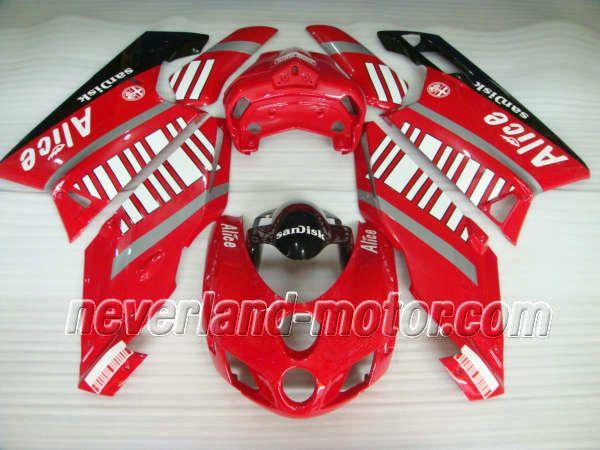 Ducati 749 / 999 2005-2006 ABS Verkleidung - Alice #ducati999verkleidungmotorradteile #ducati999verkleidungen