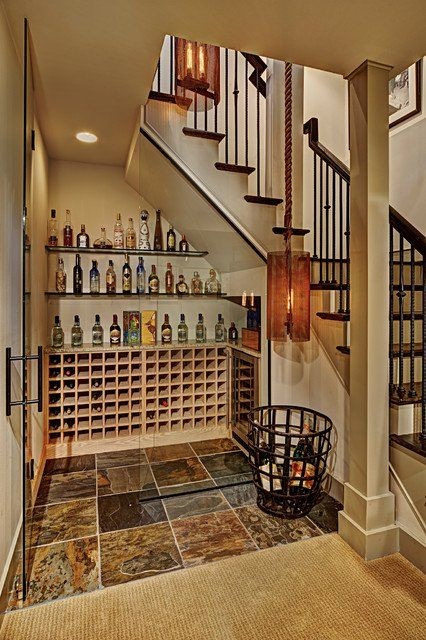 16 Functional Wine Cellar Designs To Clever Use Of The Space Under