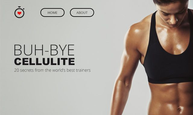 Free Modern Fitness Email PSD Template – Fitness Templates Free