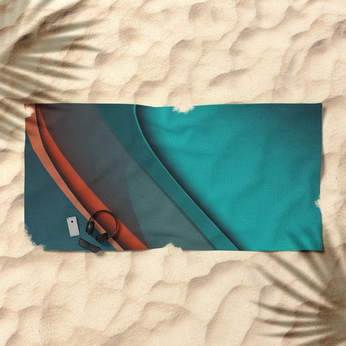 Monsoon Beach Towel