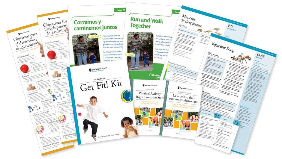 TeachingStrategies Get Fit! Kit (sample) Teaching