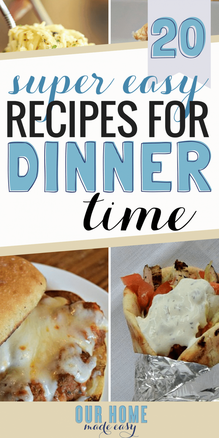 20+ Easy Week Night Dinners for Busy Families! images