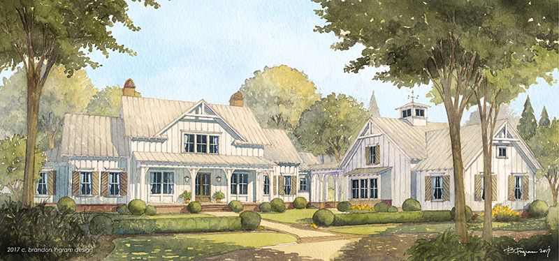 Cedar River Farmhouse Southern House Plans Farmhouse Floor Plans Southern Living House Plans