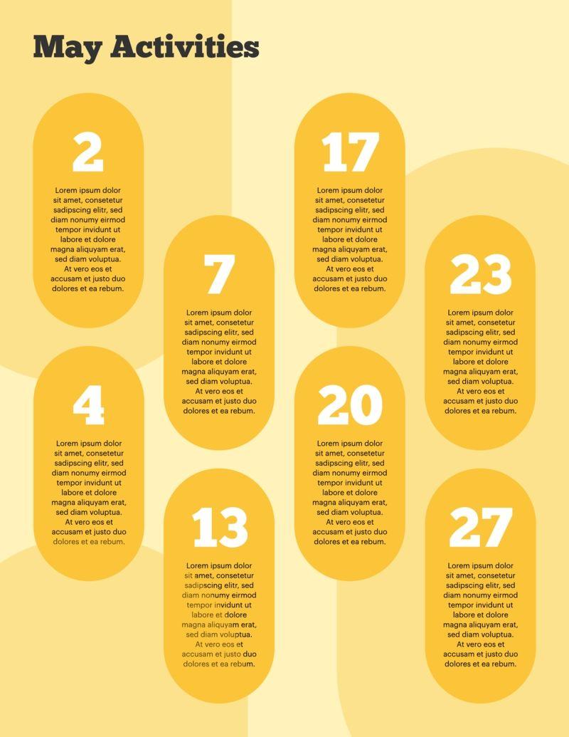 Free Printable Calendar Graphic Design in 2020 Free
