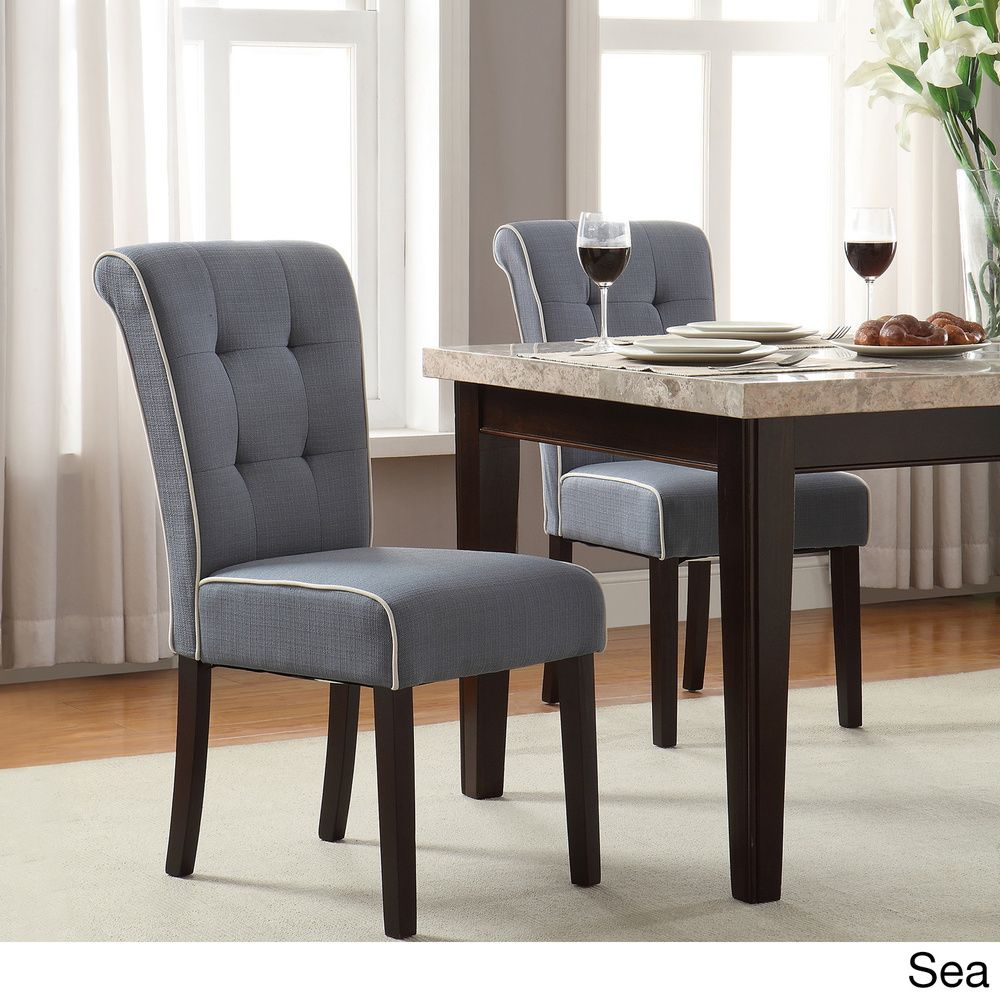 OSP Home Furnishings Savanna Tufted and Rolled Back