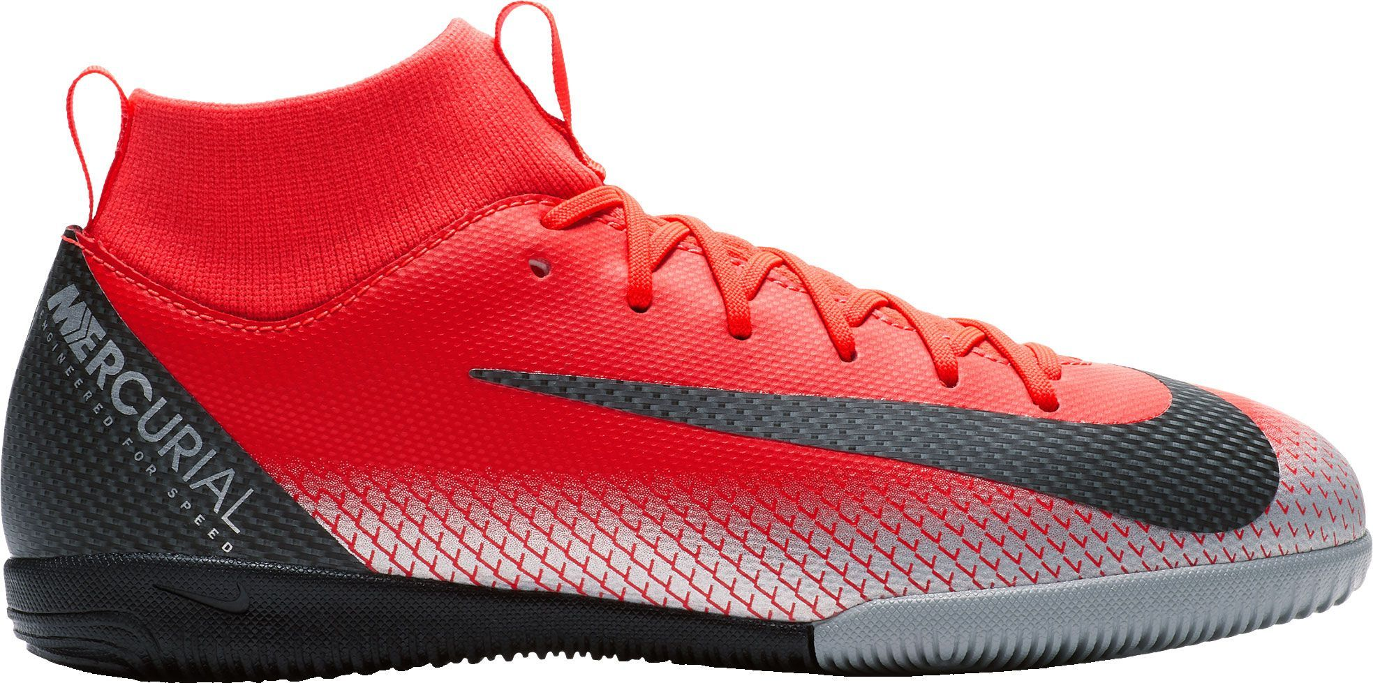 7abb3af36 Nike Kids  MercurialX Superfly 6 Academy CR7 Indoor Soccer Shoes in ...