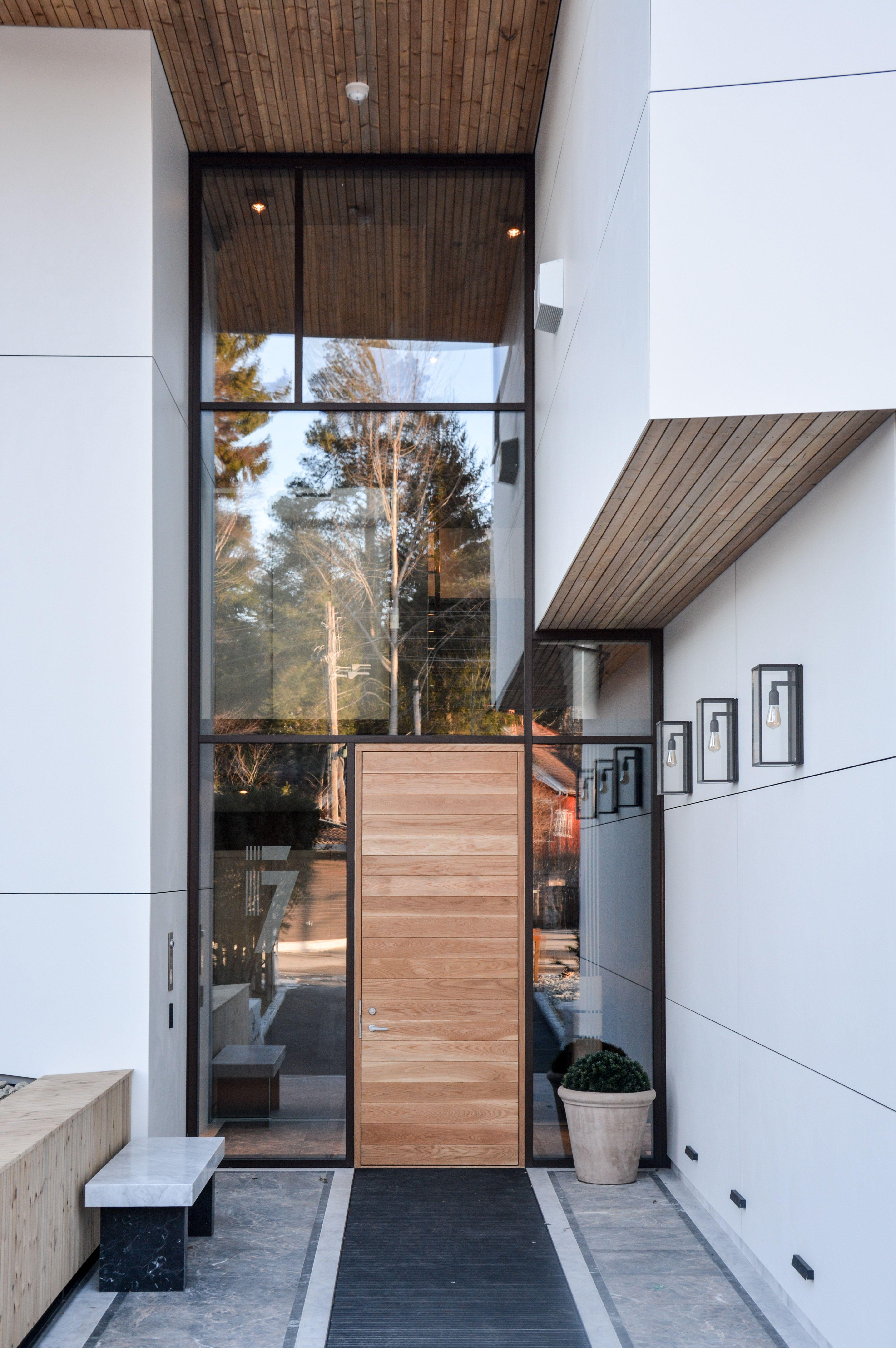 Norwegian apartment complex by various architects modern scandinavian architecture main entrance design