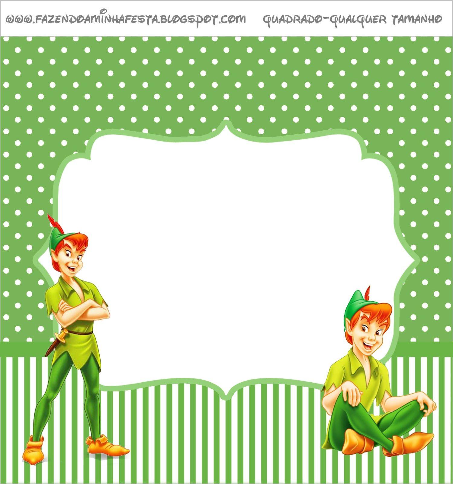 Peter Pan Etiquetas para Imprimir Gratis Xoel