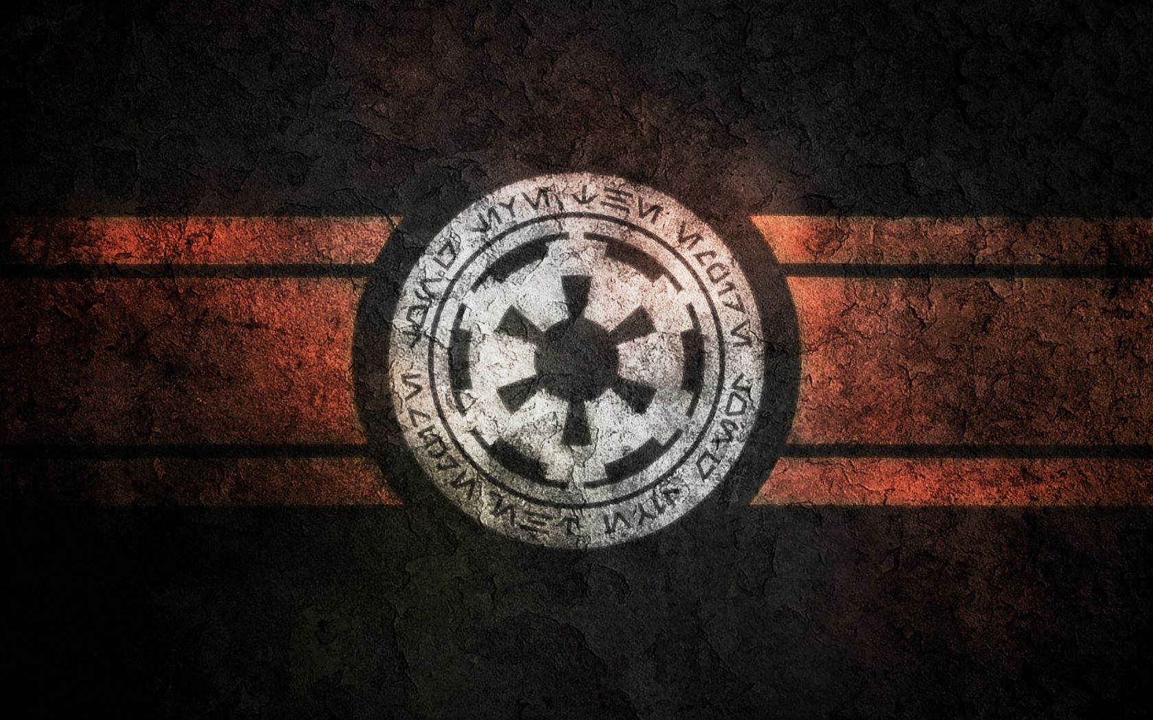 Imperial symbol, wallpaper sized