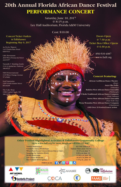 African dance festival 2017