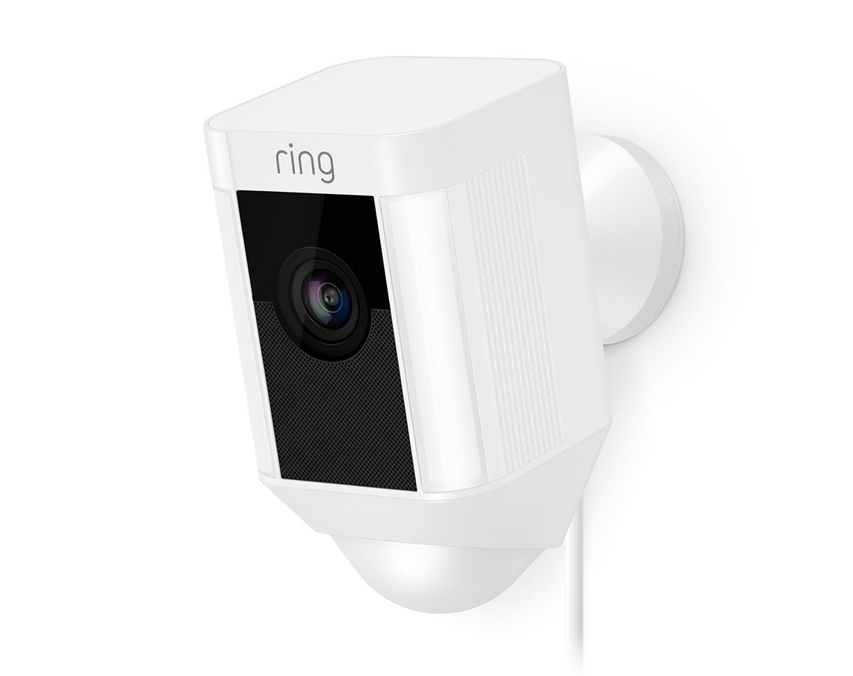 Spotlight Cam Wired Outdoor Hd Security Camera With Night Vision Wireless Home Security Systems Security Cameras For Home Outdoor Security Camera