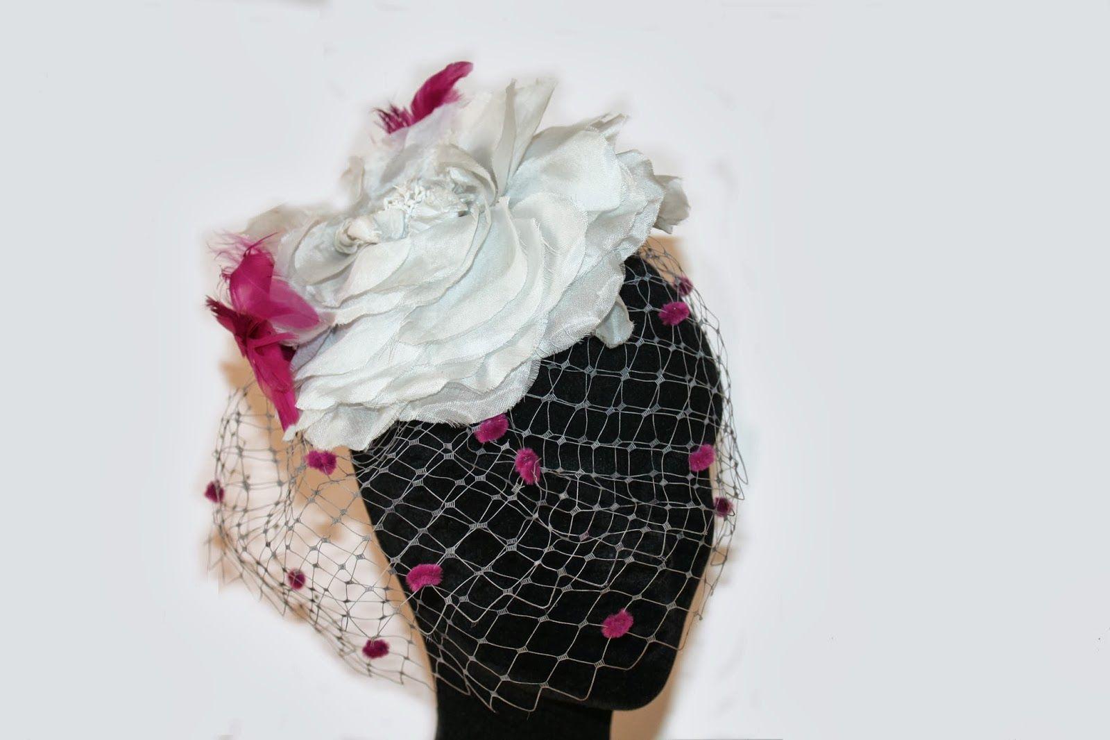 TOCADOS | AlquilaTusTocados.com #tocados #hats #tocadoflor