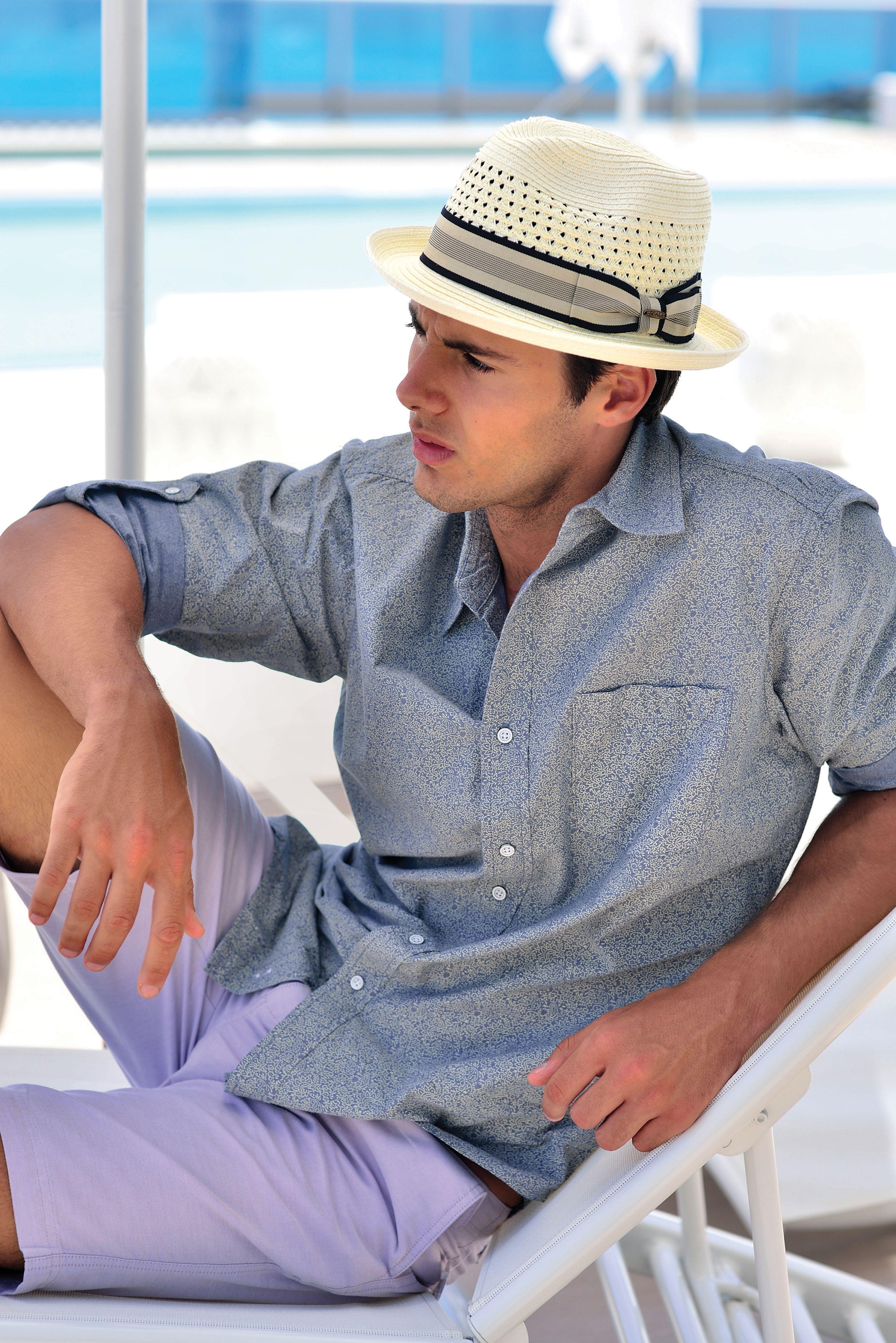 46f67344058be Men s fashion toyo fedora hat. Straw fedora. Scala
