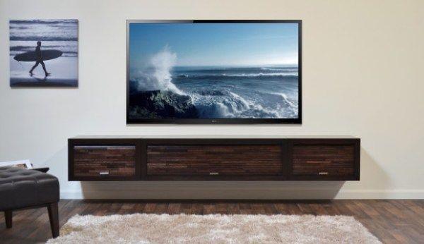 TV-Wand-Plan-Ideen Dekoration Pinterest - schlafzimmer wand ideen